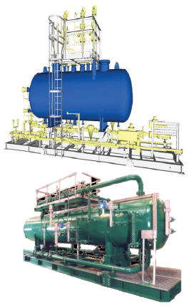 3 Phase Oil Water Gas Production Seperator Package